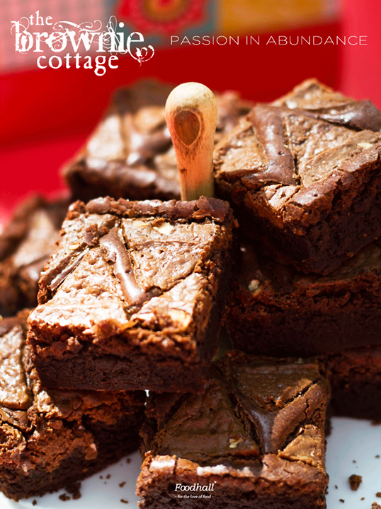 Created with fresh and original ingredients for people with fine taste, these rich gooey brownies are unparalleled in taste.  Tame your sweet tooth at Foodhall @ Palladium Mumbai, DLF Promenade, DLF PLACE, SAKET, Gurgaon Central Mall