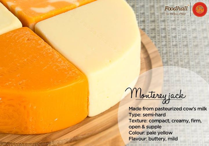 What's a Mexican fiesta without cheese? Here's more on the popular Monterey Jack