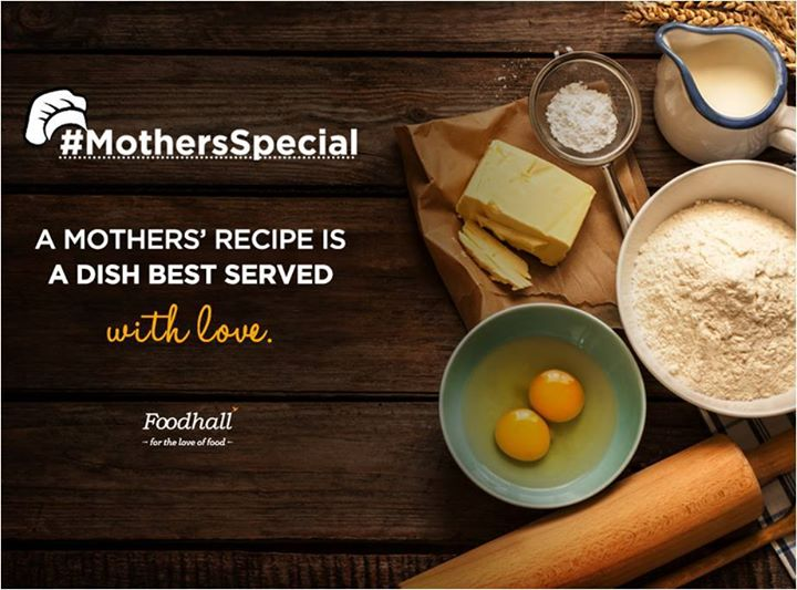 #MothersSpecial  Crafted with patience and sprinkled with love, there is nothing as delightful as a Mother's recipe.  Tell us about your favourite meal cooked by your Mother?