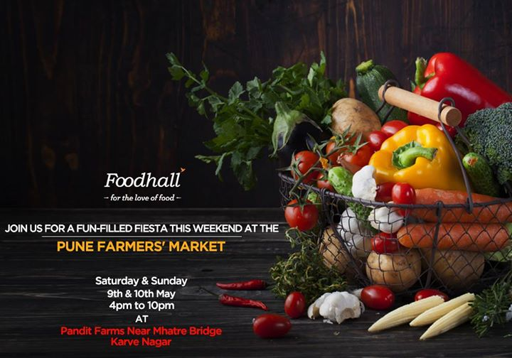 #WeekendPFM  An exciting weekend awaits you at the Pune Farmers' Market!  Taste the flavours of summer as we bring you the choicest selection of healthy, gourmet produce.