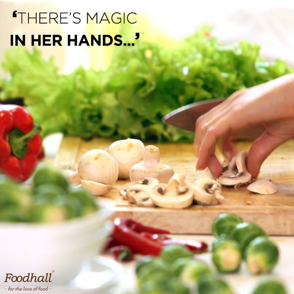 #MothersSpecial That's the magic in her recipe. Pure love.  Share pictures of those special meals by your mother and we could feature it on our page!