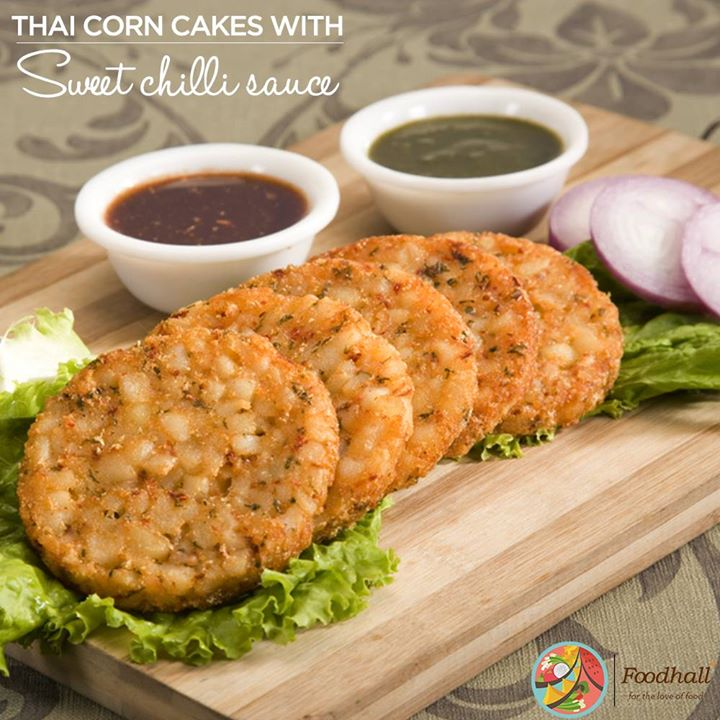 Great as a light snack for a party or brunch, taste these delicious fried corn cakes served with a side of tempting sweet chilli sauce  Relish yummy thai cuisine at our stores @ Palladium Mumbai, 1 MG Road, Phoenix Market City,Pune