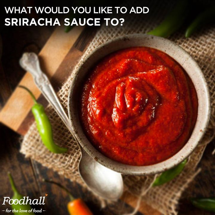 Tell us how you would use this hot and deliciously addictive sauce?  Comment below what you would pair with Sriracha!