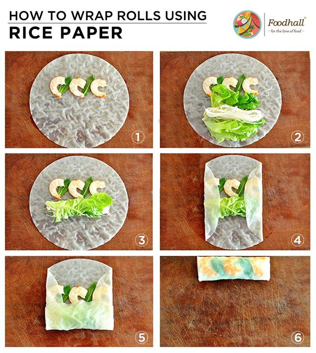 Master this easy skill that you can take back home to your kitchen.  If you're wondering how to use rice paper, here's a step by step guide to healthy and refreshing instant rolls!