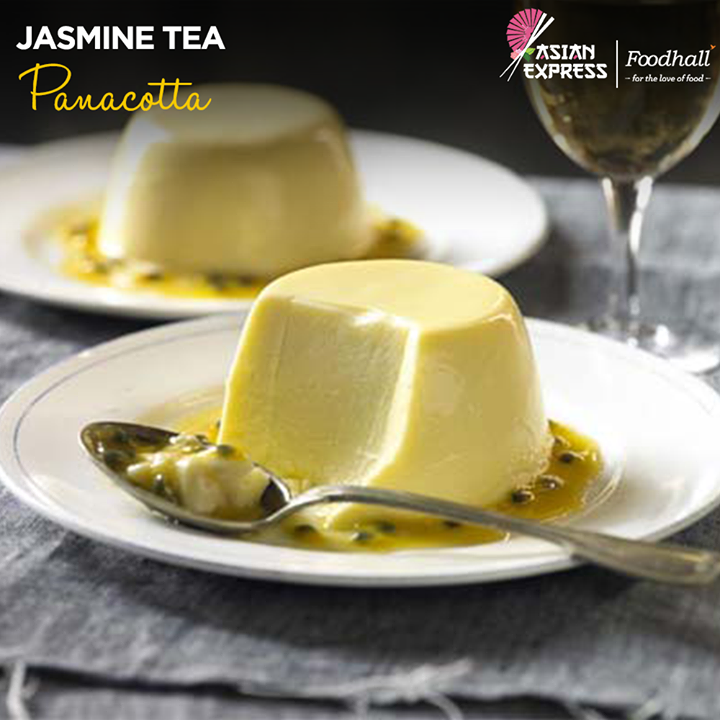 A classic dessert with an exotic twist, taste the refreshingly delightful Jasmine Tea Panna Cotta at Foodhall @ DLF Promenade, DLF PLACE, SAKET and Gurgaon Central Mall