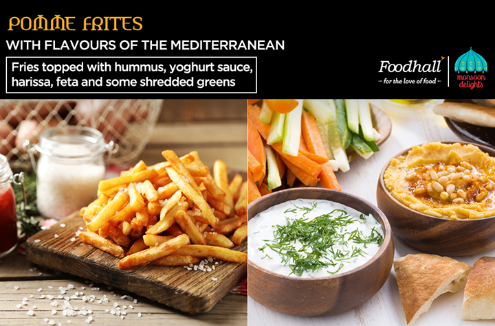 Have you checked out the Pommes Frites bar at our stores yet? Enhanced with a burst of exotic flavours, these delicious pommes frites are to die for! Savour this flavoursome snack at Foodhall today