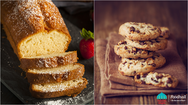 The rich, buttery flavour of classic pound cake or the goodness of chunky cookies, what would you pick as an accompaniment to a warm cup of tea?
