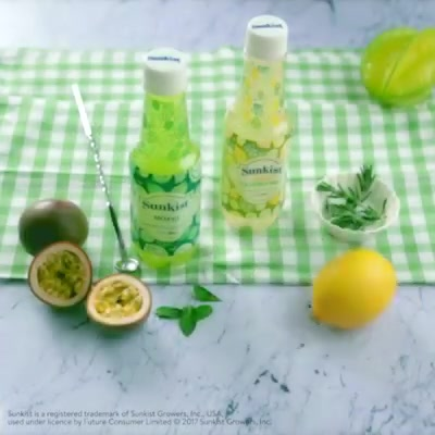 Raise your glasses & celebrate the #summer with exciting new flavours from Sunkist India We're beating the heat with #mocktails made using two of our favourites - Sunkist Lemon Cucumber Mint & Sunkist Mojito!
