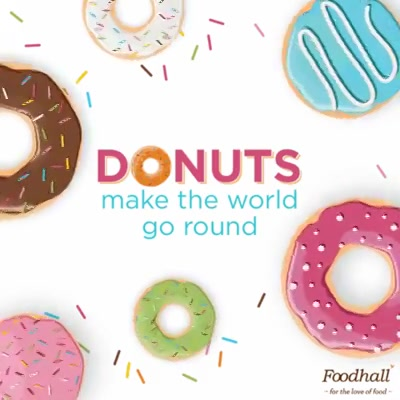 Live the sweet life, hole-heartedly! 🍩 Walk into our stores any time between 2nd to 4th June & pick up donuts, cronuts & more! #HappyDonutDay