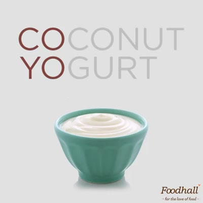 #Vegan, lactose-intolerant or fan of coconuts  - CoYo is the dairy-free alternative to #GreekYogurt. It's still creamy, comforting & delicious & isn't that the point? . .  Try it at the newly launched CoYo bar at our stores & take a tub home to add it to your #breakfast bowls & granola bars.