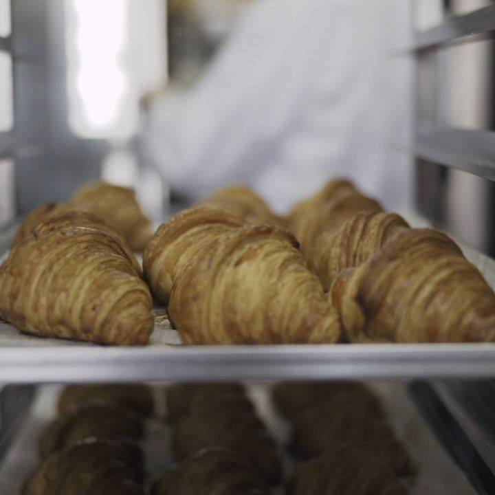 The only thing better than your morning croissant… TRUFFLE AND CHEDDAR CROISSANTS!  Crisp and flaky, with a potent kick of creamy earthiness, they're best paired with a freshly-brewed coffee @kcroasters and @kaffacerrado.  We're only baking these covetable croissants in limited batches every day, so be sure to snaffle them fresh-out-of-the-oven before they run out.  #FoodhallIndia #ForTheLoveOfFood #Croissants #TruffleLovers #FreshlyBaked #TruffleCroissants #MyBreakfast