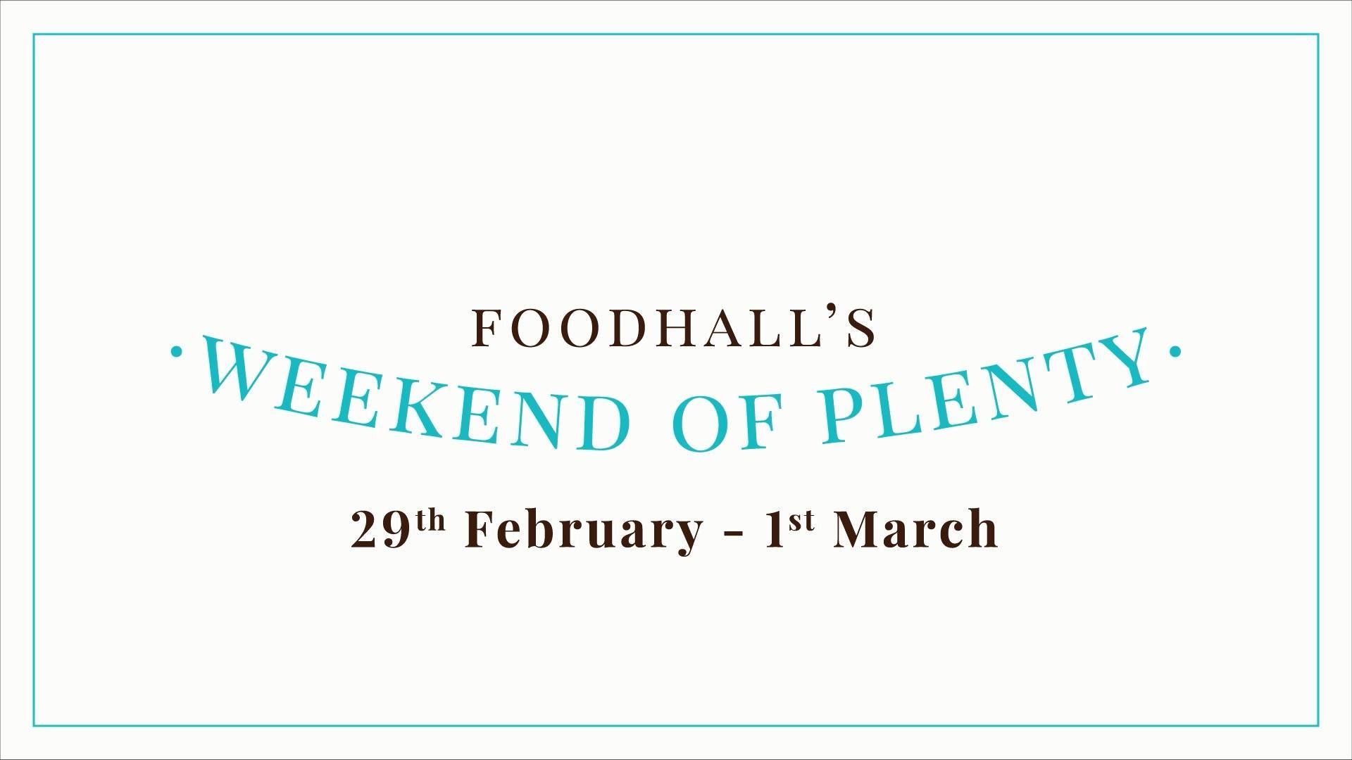 We're wishing for your wishlist to come true in leaps and bounds at Foodhall's Weekend of Plenty, the biggest epicurean extravaganza of the year yet!  Follow the link in our bio and sign up now for exclusive access to vouchers worth INR 2250/- on purchases worth INR 5000/-  This leap year, #YouShopYouGain, only at a Foodhall near you!   #FoodhallIndia #WeekendofPlenty #LeapDayVouchers #LeapDayOfferings #LeapDayWeekend