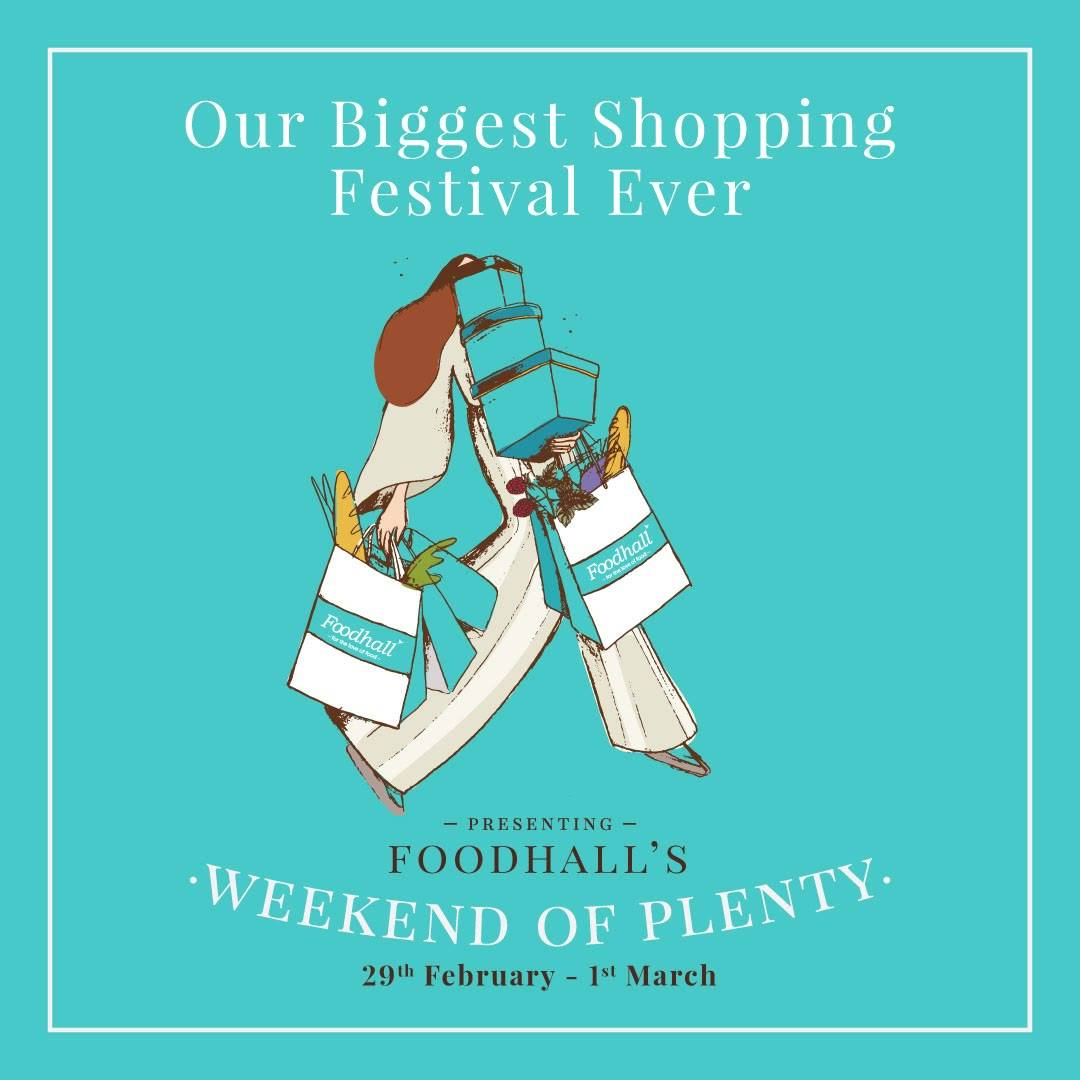 Don't forget to treat yourself to Foodhall's Weekend of Plenty - a once-in-four-years food extravaganza.   When #YouShopYouGain access to exclusive vouchers worth INR 2250/- on purchases worth INR 5000/-  Let your imagination run wild and experiment with our staggering array of ingredients such as Italian truffles, wine-infused cheese, 18-year-aged-balsamic vinegar, morel mushrooms, Kashmiri saffron, Buddha's hand citron and so much more!   For the curious and the gourmand alike, we welcome you to a weekend of plentiful shopping on 29 February & 1 March at a Foodhall near you.  Retail therapy never felt (and tasted) so good!  #FoodhallIndia #WeekendOfPlenty #LeapDayShopping #FoodExtravaganza #FoodhallLeapYearOffer
