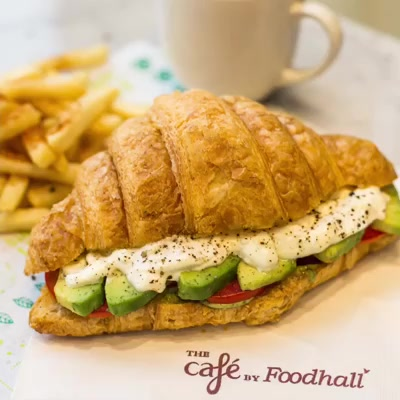 The promise of freshness in every bite. We are ready to serve you your favourites again at The Café by Foodhall at Foodhall, Linking Road.