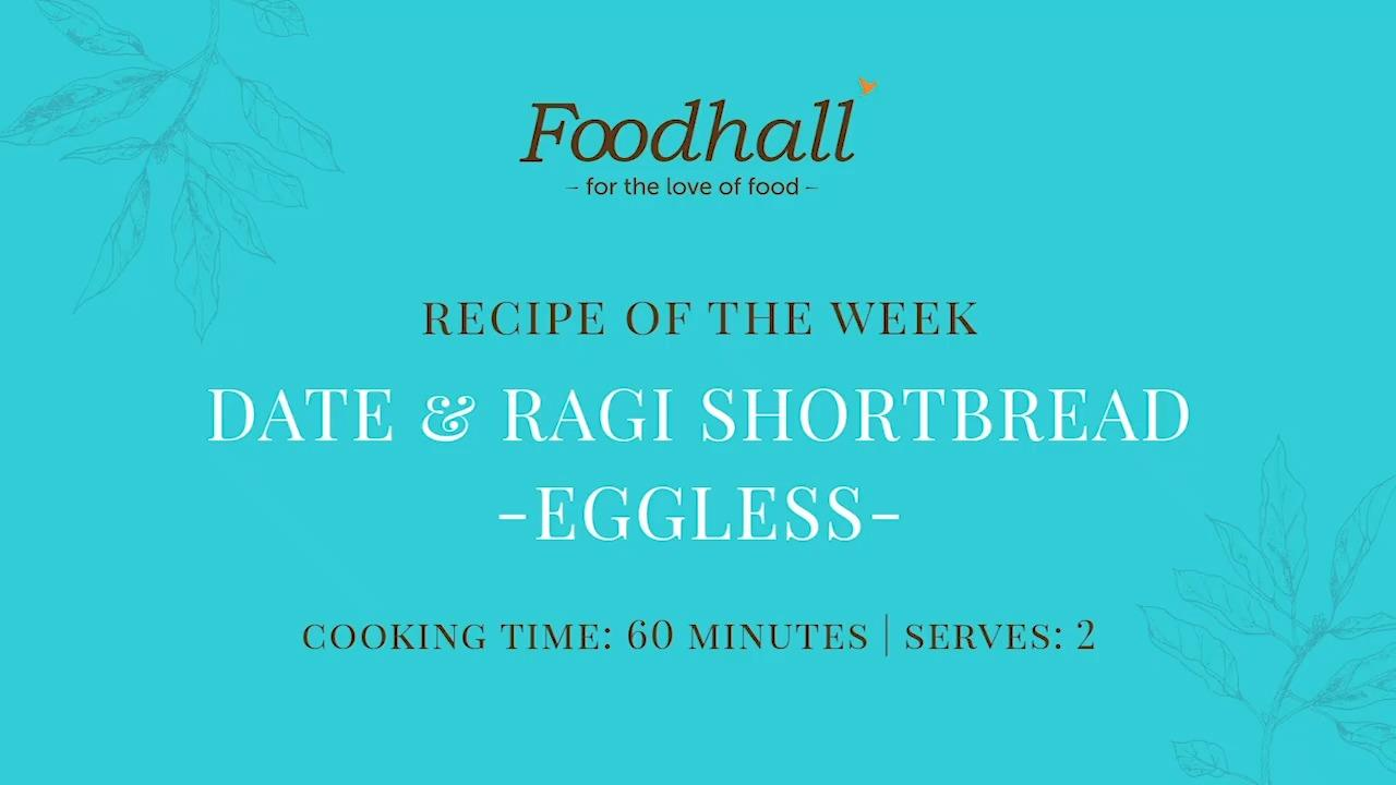 #RecipeoftheWeek: Date & Ragi Shortbread (Eggless)  Delectable dates and the gluten-free wonder grain #ragi, come together in a healthy twist on shortbread pastry. We recommend devouring them whilst hot or better yet, dunked in your afternoon cuppa coffee!  #FoodhallIndia #ForTheLoveofFood #RecipeShare #HealthyRecipes #HealthySnacking #Shortbread #RagiShortbread #Dates