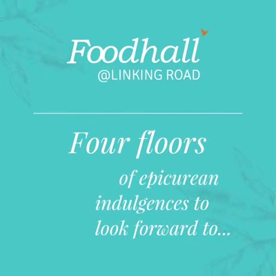 Indulgence has a new address. Find your favourites from December 1st only at Foodhall, Linking Road