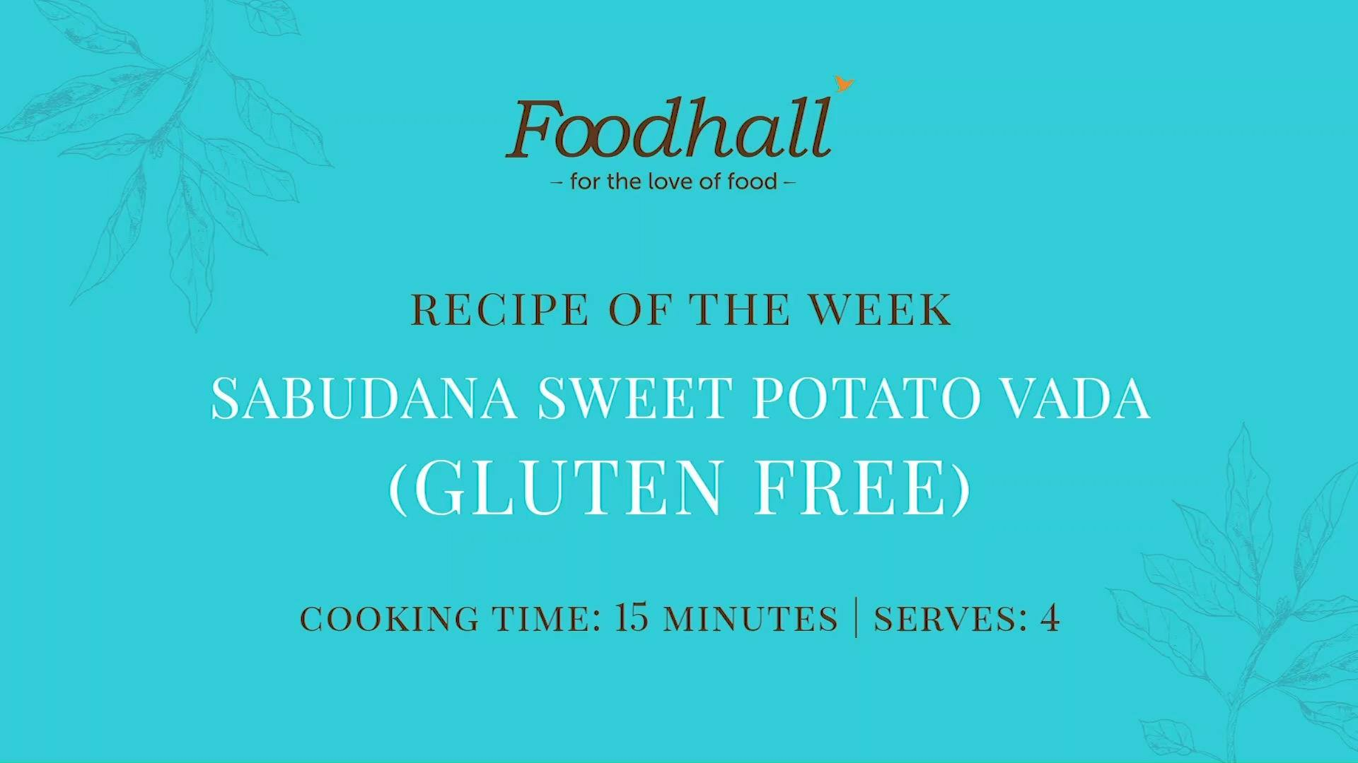 #RecipeoftheWeek: Sabudana Sweet Potato Vada.  Our recipe this week spotlights #sabudana – the tapioca pearls which are a staple during #Navratri, cropping up in snacks such as Sabudana Vada which can be eaten during fasts.  We've used sweet potato for a guilt-free, healthier twist to the recipe – not to mention, it adds a soft flavour and a nutritious boost too!  #ForTheLoveofFood #FoodhallIndia #SabudanaVada #NavratriFasting #NavratriFast #RecipeShare #IndianRecipes #HealthyRecipes #HealthyLiving