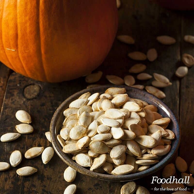 Add pumpkin seeds to energy bars, trail mixes, smoothies or your morning oats.  Packed with antioxidants and powerful nutrients, they are the ideal source of energy to keep you going throughout the day!  #FoodhallIndia #Healthy #Pumpkin