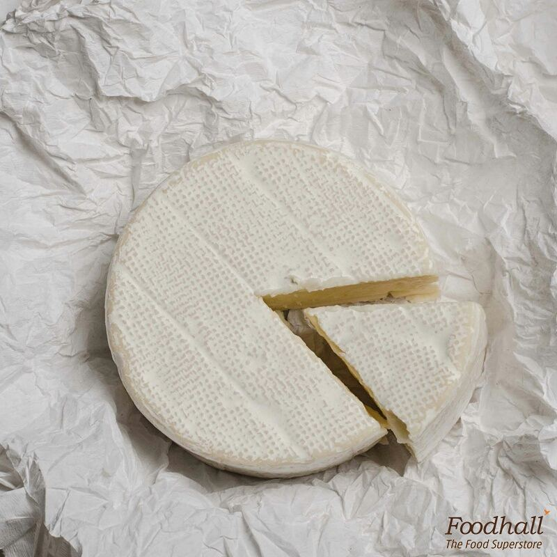 Hailing from the lands of France, Camembert is a soft, creamy cheese that is just perfect to add to your salads or stir it into soups.  You can also just serve it with some crackers and enjoy with some sparkling wine.  #FoodhallIndia #Cheese #Camembert