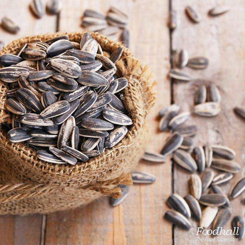 Enjoy a handful of these nutty sunflower seeds to quell hunger pangs and get a wealth of nutrition at the same time.  Add them to your favourite tuna, chicken or turkey salad, they taste amazing with everything!  #FoodhallIndia #Healthy #SunflowerSeeds