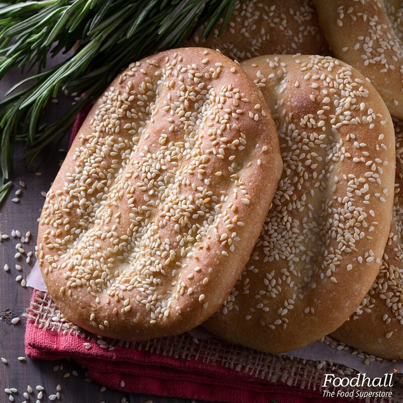 Inspired from the Middle East, we bring to you Nan-e-barbari. Perfect combination of crunchy and chewy, this Persian flatbread is the ultimate accompaniment to dinner.Enjoy it with a our mast-o-khiar dip or a bowl ofvegetable stew. #FoodhallIndia