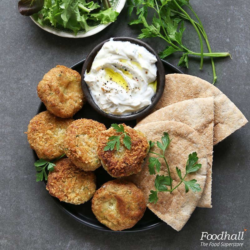 A Middle Eastern twist to your monsoon evenings! Get your hands on the falafel batter at Foodhall, roll it into small balls, fry and serve with hummus or labneh.  #ForTheLoveOfFood #foodhallindia
