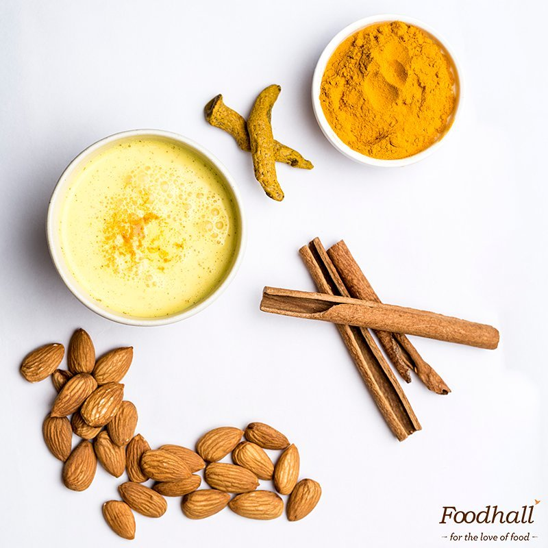 India's traditional turmeric milk went on a world tour and came back to Foodhall as the trendy Golden Milk. Infused with the goodness of fresh turmeric, warm ginger and other spices, it's an instant pick-me-up.  Tag your globetrotting friends who might enjoy this in the comments below! #ForTheLoveOfFood #Foodhallindia