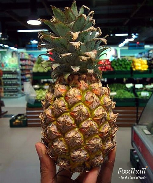 One of the things Hawaii is famous for is #pineapples and we have the sweetest, juiciest Hawaiin pineapples at Foodhall. Not only are they incredibly delicious, they are oh so pretty to look at! Have you tried them yet?  #ForTheLoveOfFood #FoodhallIndia