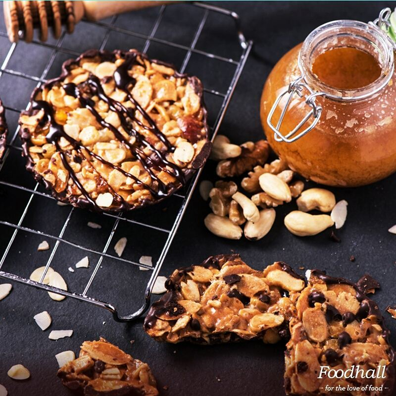 If you've never tried these delicate almond cookies you MUST head over to our stores and ask for Florentines – you'll surely come back for more!  #ForTheLoveOfFood #FoodhallIndia