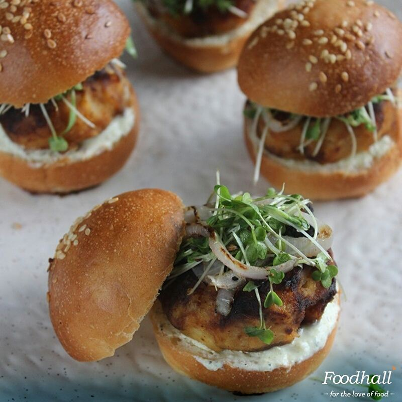 Easy to make and easy to eat, @amritaoflife's sweet potato sliders are the perfect #snack for your next party or get-together. Get the #recipe from the link in our bio.  #ForTheLoveOfFood #FoodhallIndia