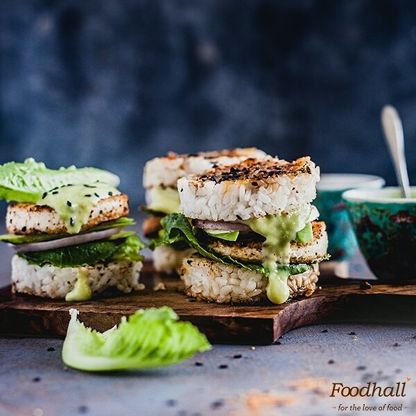 Sushi burger is the latest foodie fad to hit town and we totally understand why!  We joined @playfulcooking in the kitchen to try this delicious food-hybrid that took our love for sushi a few notches higher!  Click the link in our bio to enjoy these at home with friends and family.  #ForTheLoveOfFood #FoodhallIndia