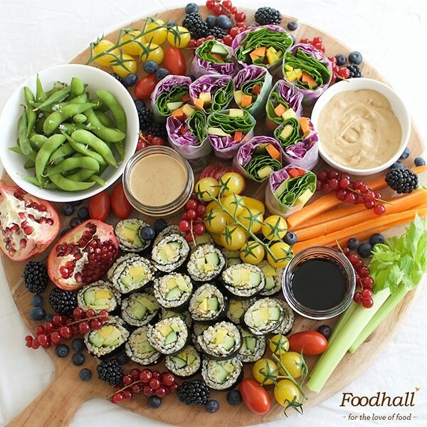 Foodhall,  party, snacks, ForTheLoveOfFood, FoodhallIndia