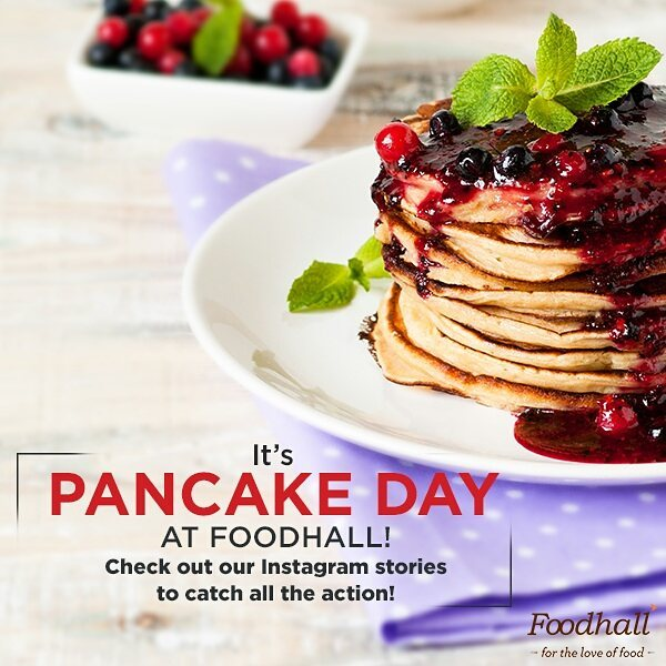 Beat the mid-week blues and check out our mouth-watering Instagram stories on pancake sampling at all our stores.  #ForTheLoveOfFood #FoodhallIndia