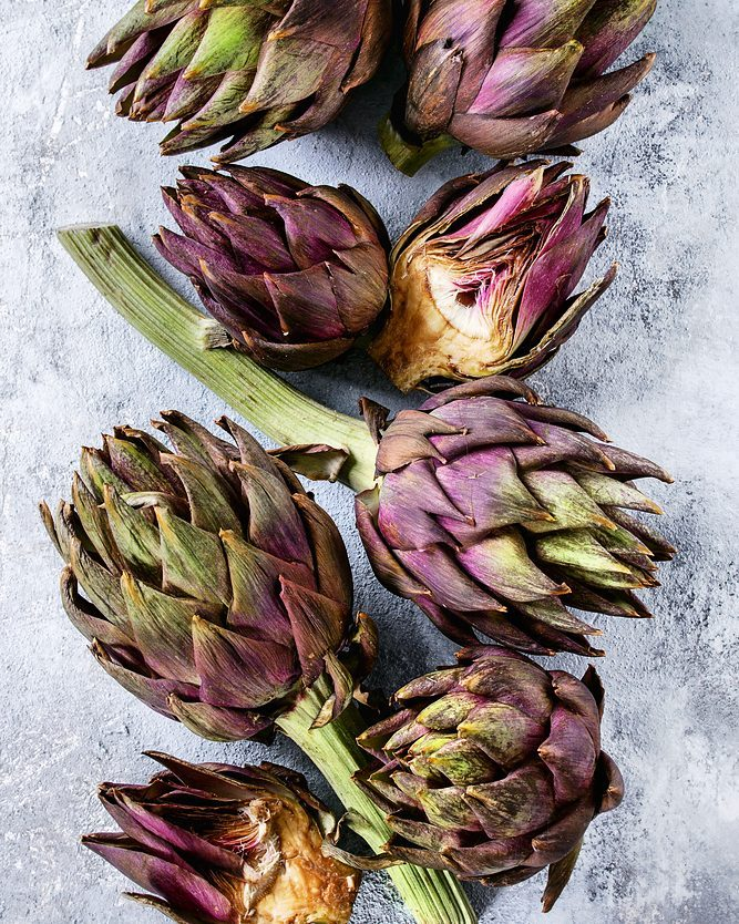 Purple #artichokes 💜 To be honest, we choked  up a bit when we saw this arrive at our store this morning.