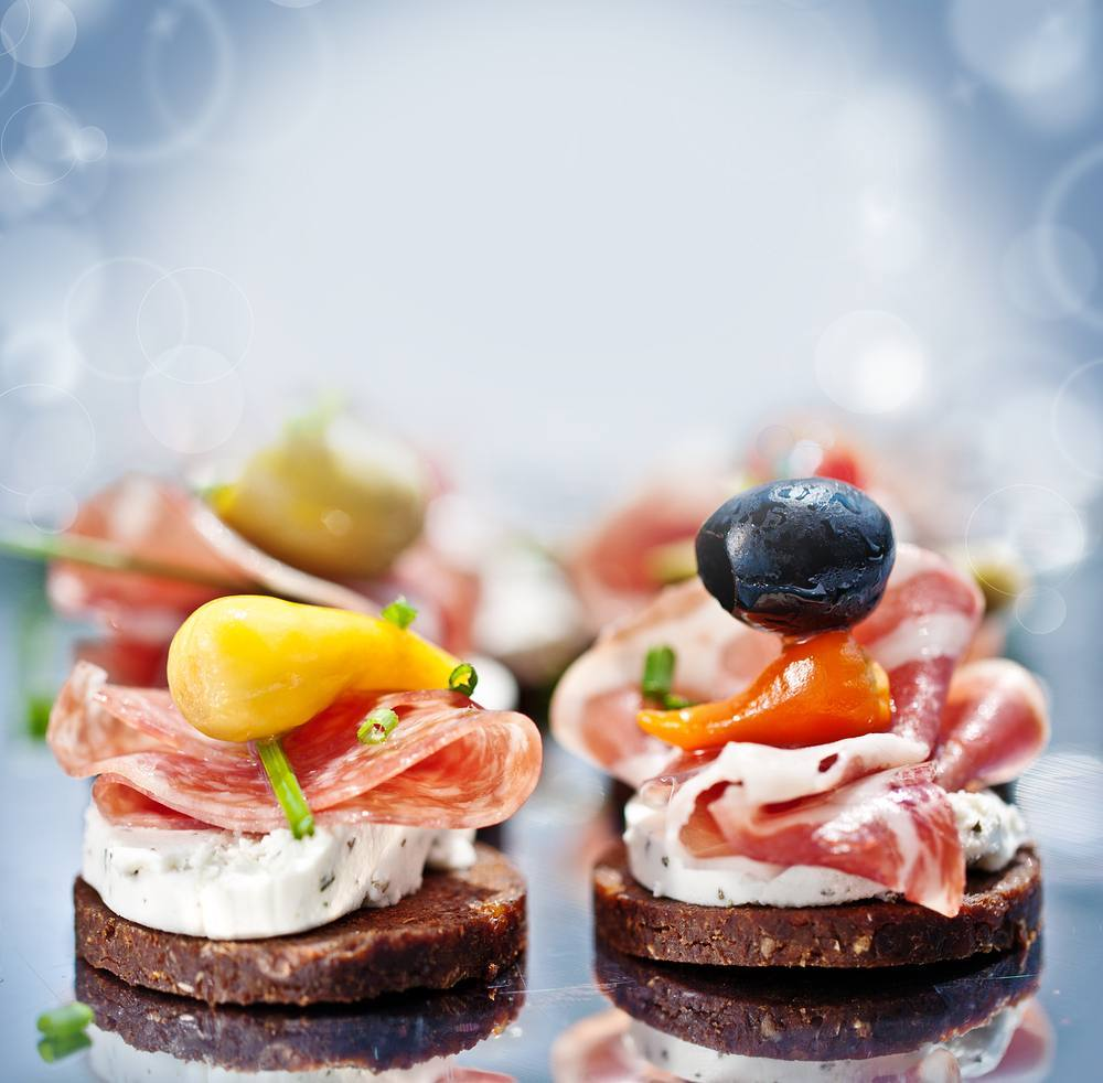 Foodhall,  foodhall, partychef, partychefbyfoodhall, partyfood, newyearseve, party, appetizers, 2018, hello2018