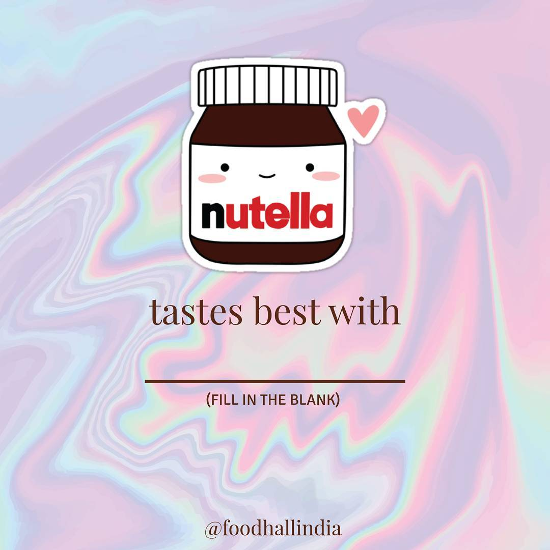 Did you know that it is World Nutella Day?! This has to be one of the best days of the year!! Visit our stores and get your jar today!  P.S. - stay tuned to know more about all the Nutella fun we will be having at Foodhall!