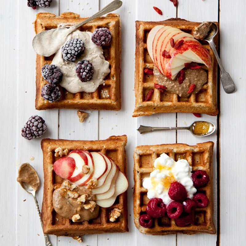 Enjoying your weekend? We know just the right thing to add the perfect amount of fun to your plans. W-A-F-F-L-E-S all the way! Dip them in warm cheese or your favourite yogurt. Tell us what's your go to topping on waffles in the comments below.