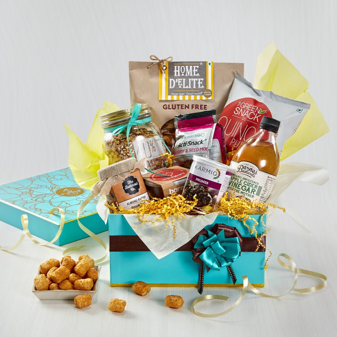This Mother's day, pick a beautiful gift box brimming with goodies.  Click the link in our bio to find a Foodhall near you. #MothersDay #Gifting #ForTheLoveOfFood