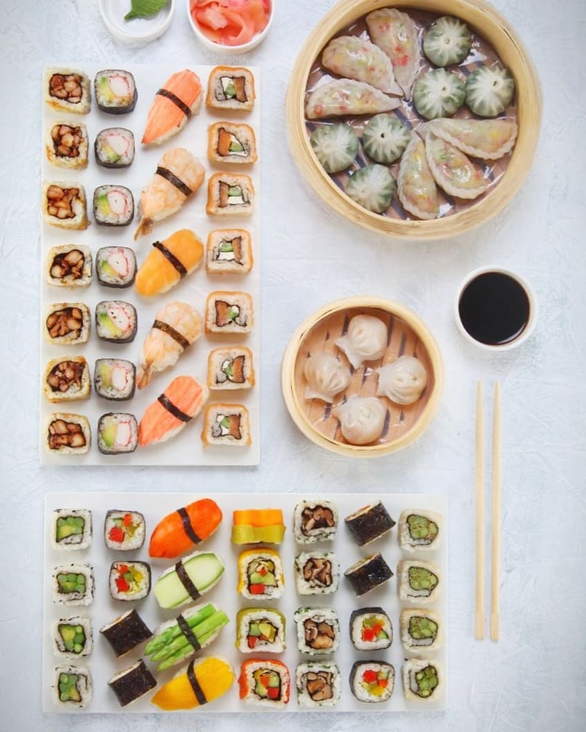 Celebrate International Sushi Day with Foodhall! Invite your friends over and order-in our Sushi and Dimsum platter from theParty Chef menu by Foodhall. You can also drop by at the store to pick-up and enjoy your individual box of sushi. Know your Sushi, see stories for more.  #fortheloveoffood #InternationalSushiDay
