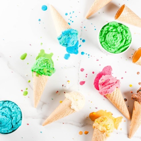 Ever heard of Brown butter Ice cream?  An Olive Oil gelato, Goat Cheddar Sundae or a Raita Ice Cream with Indian Pistachio Brittle?  You can use vanilla ice cream or froyo as a base and go crazy with blending unique flavors in it! Think of a new ice cream variety you can create today. #IceCreamFlavoursDay #WeekendFeels #SummerRemedy #ForTheLoveOfFood #BeatTheHeat #FoodhallIndia