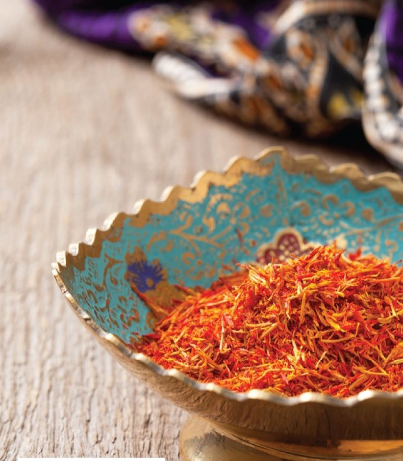 #MondayMandate - Saffron Give the gift of great flavour to celebrate your special occasions. The rich fragrance and golden-hue of saffron makes those special meals memorable.  Saffron is a precious thing, so we're revisiting a trick to make it last and last and last. Dry saffron in a warm skillet, then crush it to pieces. Soak the crumbled saffron in warm water; the ratio should be one cup of water for every 1/2 tsp. You can store this in the fridge for up to a week. 2 tbsps of this magic water will equal one good pinch of saffron. #QuickFix #BetterForYou #Saffron #AddYoCart #Gifting #Special #StorageTips #Essentials #ForTheLoveOfFood #FoodhallIndia