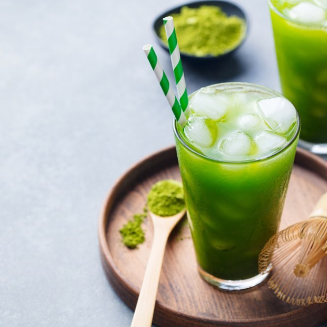 Mid week refreshment - a cold glass of Matcha cucumber lemonade. This zesty concoction will give you just the dose of antioxidants you need ⭐️ Watch our stories for the recipe! #Cooler #TryItNow #QuickFix #BetterForYou #Refreshing #Matcha #Trending #AllGreen #Love #ForTheLoveOfFood #FoodhallIndia