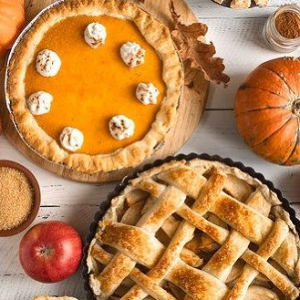 Let's celebrate the sweetness of the season with Pumpkin Pie! Try something new with Pumpkin Cheesecake or mini pumpkin tarts. What are you cooking for Thanksgiving? Share with us in the comments below. #TisTheSeason #Celebration #Tradition #PumpkinPie #AllThingsSweet #Thanksgiving #ForTheLoveOfFood #FoodhallIndia