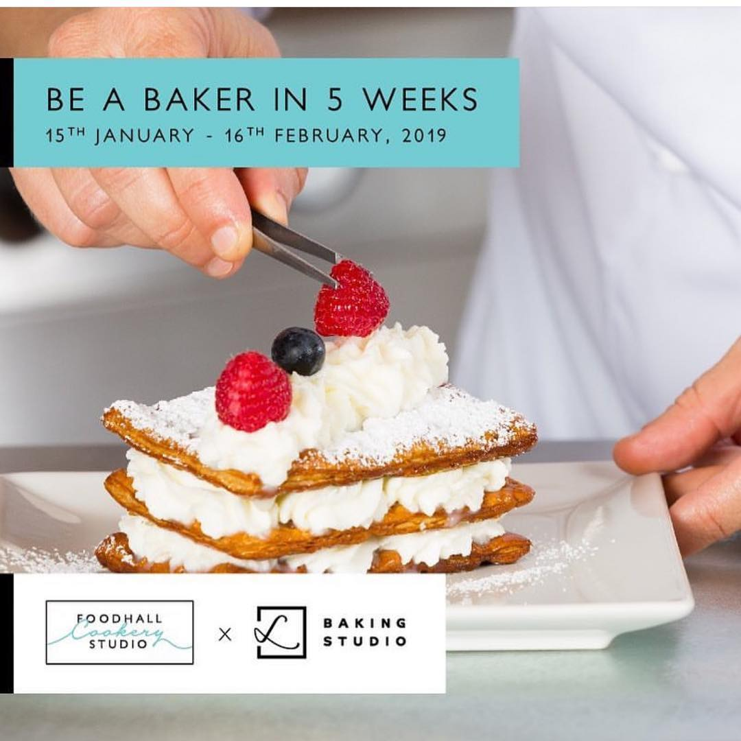 Make the leap from hobby baker to a pastry Chef! Sign up with @foodhallcookerystudio for a 5-week certificate course in patisserie and baking conducted by India's finest baking school and our trusted partner @lavonneacademyindia. #FoodhallCookeryStudio #FCS  #ProfessionalCourses #Baker #RegisterNow #Lavonne #BakingCourse #ForTheLoveOfCooking #CookingwithFCS