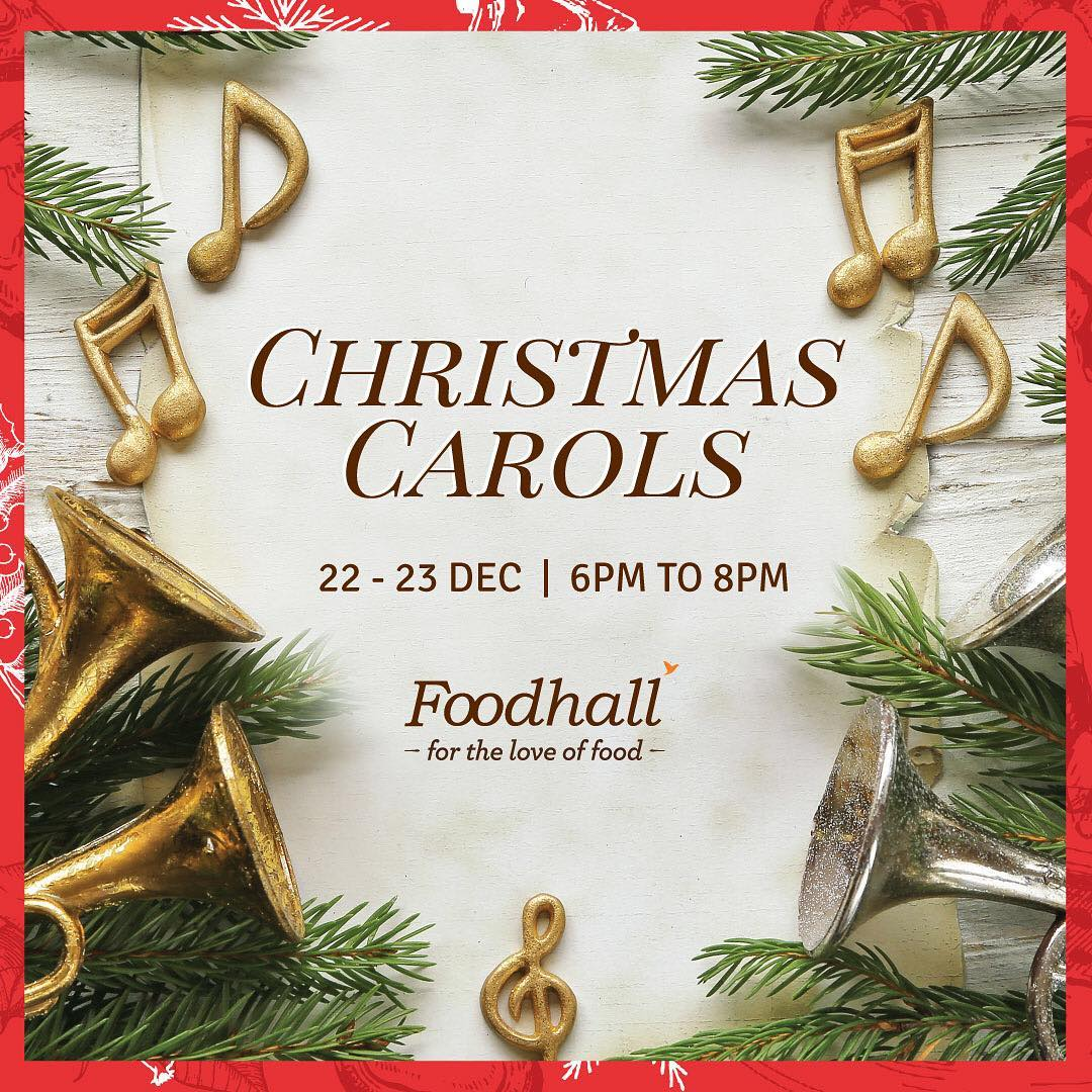 'Tis time to be jolly! Sing along to Christmas carols and indulge in a savoury traditional delicacies this Christmas only at Foodhall on 22nd & 23rd December from 6 - 8 pm. #FoodhallChristmas #ChristmasFromAroundTheWorld #Global #Traditions #ChristmasCarols #Classics #Joy #TisTheSeason #FestiveCheer #Celebration #FamilyTime #SingAlong #Happiness #December #FoodhallIndia