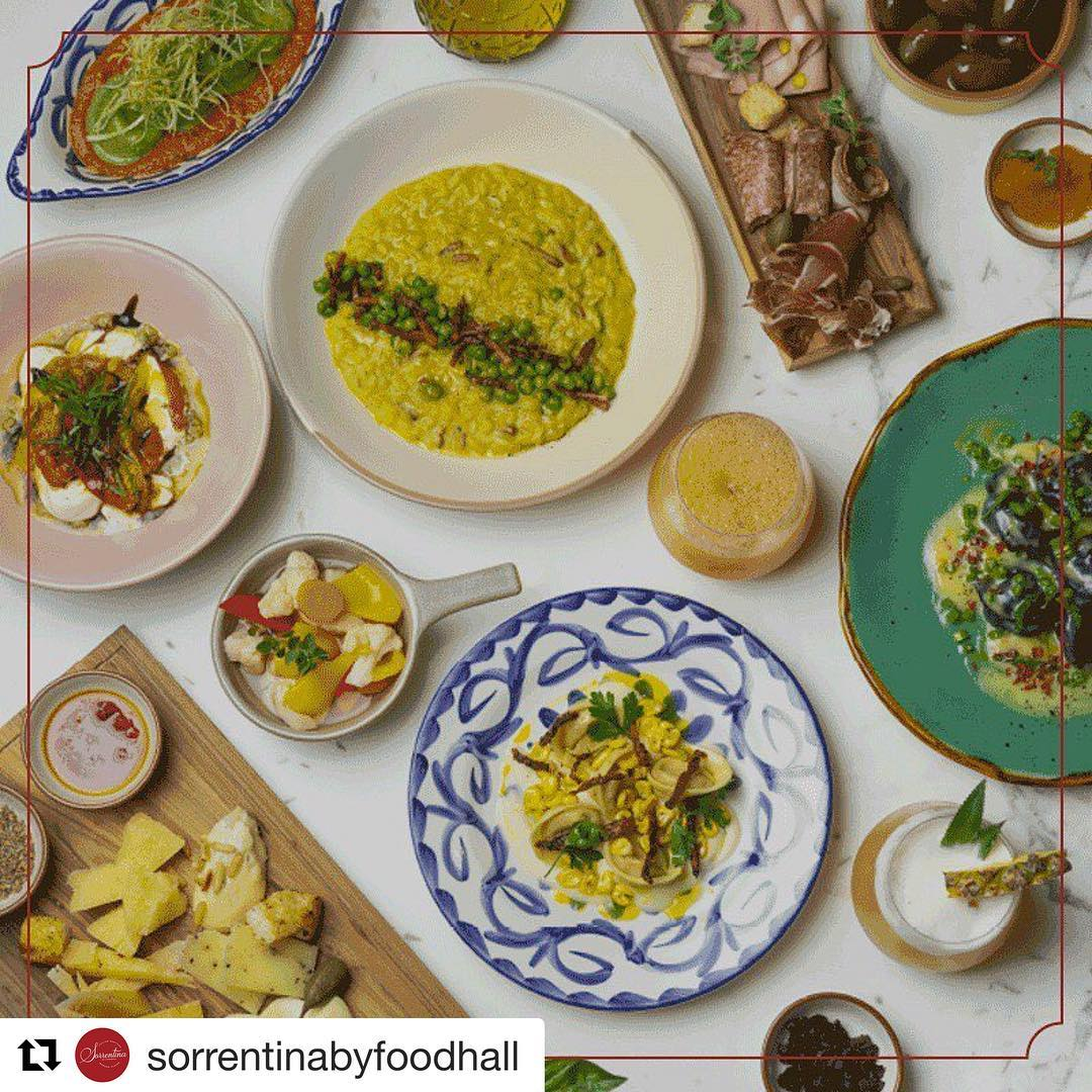 @sorrentinabyfoodhall now open at Foodhall@LinkingRoad, Level 2 ! Serving the taste of Italy all year round - Open from 12pm to 12am. Make your reservations now. #Italy #FoodhallLinkingRoad #Restaurant #Authentic #Italian #Sorrentina #Feast #Restaurant #Level2 #ReserveNow #Mumbai #ForTheLoveOfFood #FoodhallIndia
