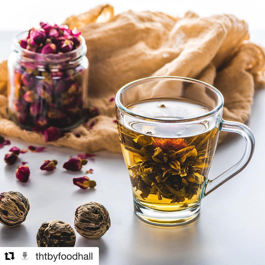 Made in China by skilled artisans this floral explosion is wonderfully aromatic, delicious to the pallets and stunning to observe. Best accompanied by warm conversation on a winter night #THT #TeaLove #ForTheLoveOfTea #TheHouseOfTea #FoodhallIndia