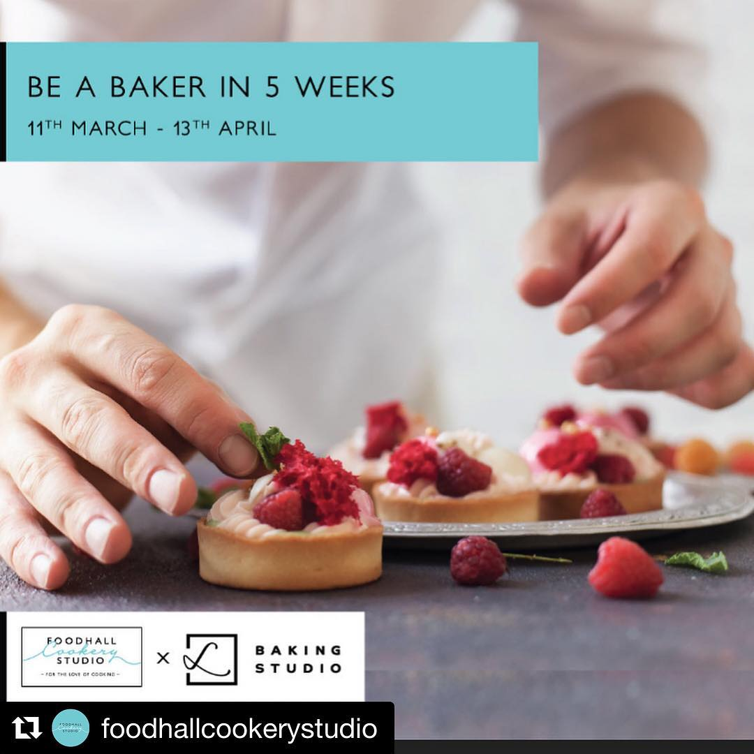 #Repost @foodhallcookerystudio ・・・ We are excited to announce the second batch of  5 Week  Baking & Pastry Certificate Course conducted by our partners @lbakingstudio @lavonneacademyindia .  For more information on the course content visit the  website link in our bio or call us on 9769441711.  Do check out @lbakingstudio for live updates from our ongoing certificate course .  #cookwithfcs #fortheloveofcooking #foodhallcookerystudio #lbakingstudio #lavonneacademy