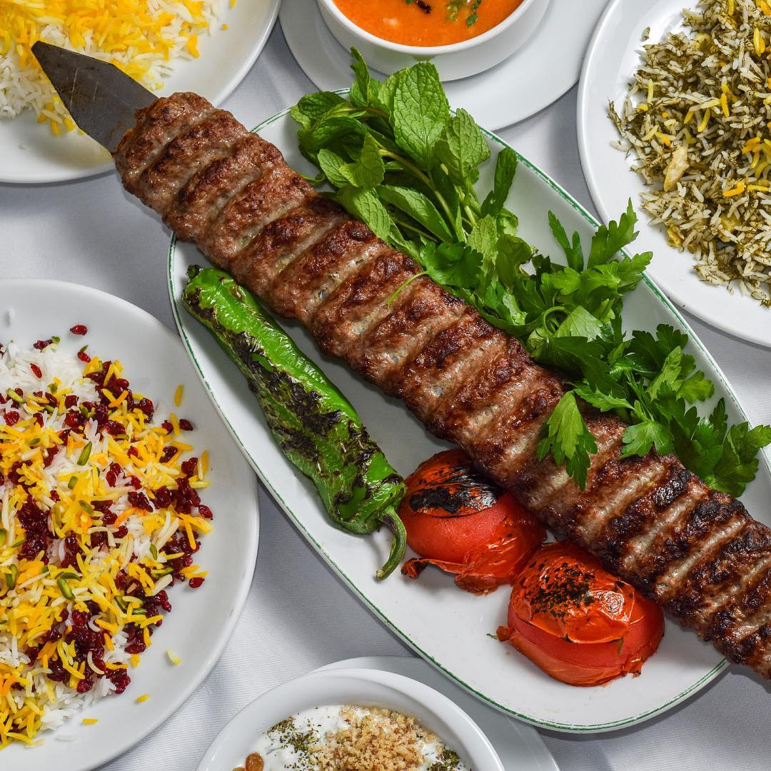 Created during the time of the Qajar dynasty, the Chelow Kebab is the national dish of Iran. It is served with cooked rice, doogh, sumac, basil and grilled tomatoes. Taste an exclusive selection of Persian kebabs at your nearest Foodhall store this March.  #ForTheLoveOfFood #FoodHallIndia #ThePersianKitchen