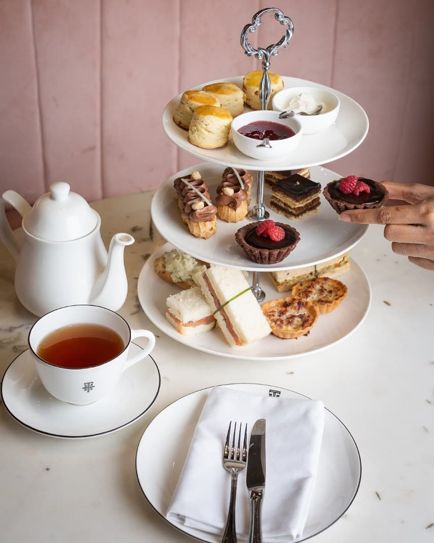 For the love of afternoon tea @thtbyfoodhall Celebrate this timeless tradition with freshly baked scones, scrummy savouries, sumptuous desserts and exquisite tea blends at THT Salons @Vama & @LinkingRoad.  #THTbyFoodhall #THTIndia #ForTheLoveofTea